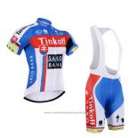 2015 Maillot Cyclisme Tinkoff Saxo Bank Champion Slovaquie Manches Courtes et Cuissard