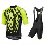 2018 Maillot Cyclisme Nalini Podio Vert Manches Courtes et Cuissard