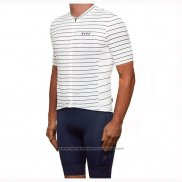 2019 Maillot Cyclisme Maap Movement Blanc Manches Courtes et Cuissard