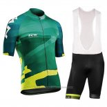 2018 Maillot Cyclisme Northwave Blade Vert Manches Courtes et Cuissard