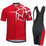 2017 Maillot Cyclisme Gore Bike Wear Power Adrenaline Rouge Manches Courtes et Cuissard