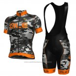 2017 Maillot Cyclisme ALE Camouflage Manches Courtes et Cuissard