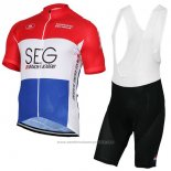 2017 Maillot Cyclisme SEG Racing Academy Champion Pays-Bas Manches Courtes et Cuissard