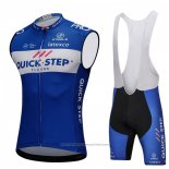 2018 Gilet Coupe-vent Quick Step Floors Bleu