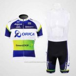 2012 Maillot Cyclisme GreenEDGE Champion Oceania Manches Courtes et Cuissard