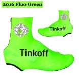 2016 Saxo Bank Tinkoff Couver Chaussure Ciclismo Profond Vert