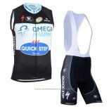 2019 Gilet Coupe-vent Quick Step Floors Noir Blanc