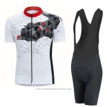 2017 Maillot Cyclisme Gore Bike Wear Power Mountain Blanc Manches Courtes et Cuissard