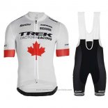 2019 Maillot Cyclisme Trek Factory Racing Champion Canada Manches Courtes et Cuissard