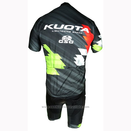 2019 Maillot Cyclisme Kuota Manches Courtes et Cuissard